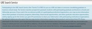WORD UP 背單字 app - 線上報名GRE選取 是否註冊GRE Search Service -1