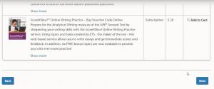 WORD UP 背單字 app - GRE點選是否需要購買相關考試書籍 - 2