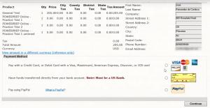 WORD UP 背單字 app - GRE -確認資料及付款方式