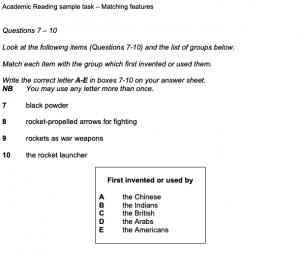 WORD UP 雅思 IELTS 題型、測驗方式、介紹、考試時間 - 一般雅思閱讀範例試題(Academic)